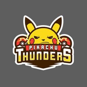 Pikachu Thunders